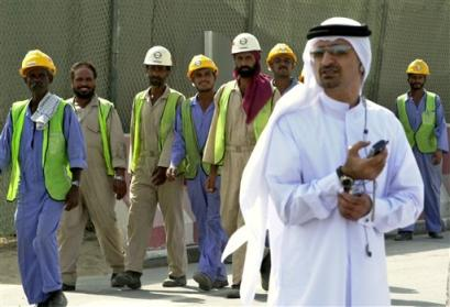 slave labor in dubai Human rights in dubai are based on the constitution and enacted law slaves of dubai uae labour minister ali al-kaabi said.