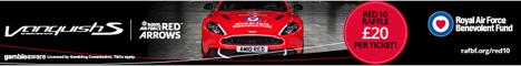 RAF benevolent fund ad, Aston Martin