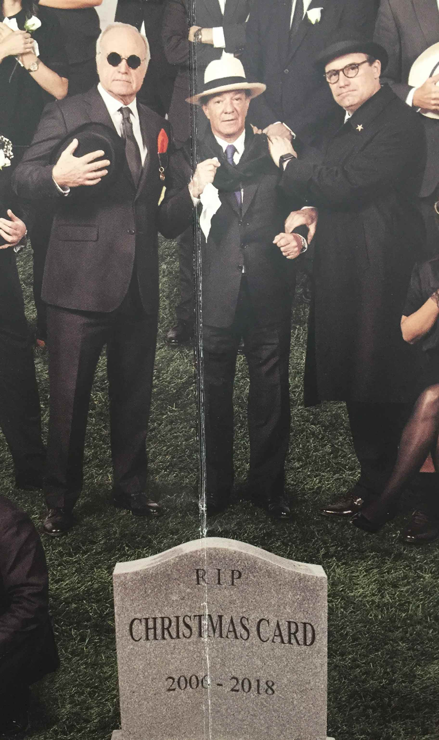 Bonkers Law Firm Christmas Card Gives Death A Starring Role