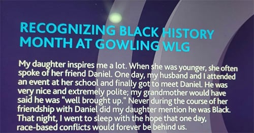 Gowling WLG Black history month