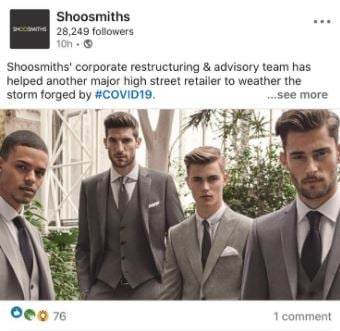 shoosmiths team